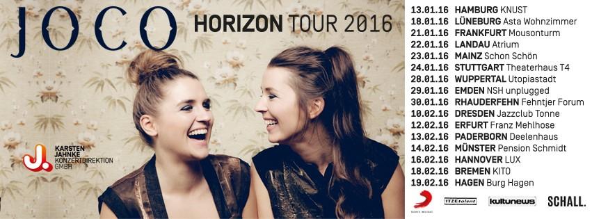 horizon tour 2016 | joco, Hause deko